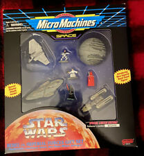 1996 Galoob Micro Machines Space Star Wars Rebel vs Imperial Forces Set 68042