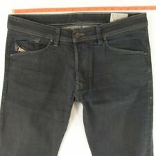 Mens Diesel DARRON 0660B Stretch Slim Tapered Blue Jeans W33 L34