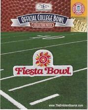 2016 Fiesta Bowl Patch Ohio State vs Notre Dame Official Jersey Logo No Sponsor