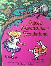 Alice's Adventures in Wonderland SIGNED Robert Sabuda 1st Ed./1st printing