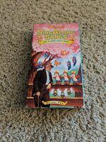 VHS DISNEY'S SING ALONG SONGS ZIP-A-DEE-DOO-DAH VOL. 2 CHILDREN MUSICAL CARTOONS