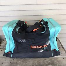Vintage Salomon Club Ski Duffel Bag Neon 1980s Retro