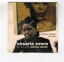 CD SINGLE PROMO (NEW) CAP VERT CESARIA EVORA MARISA MONTE E DOCE MORRER NO MAR