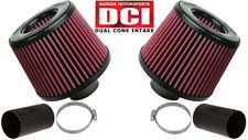 Burger Motorsports BMS N54 Dual Cone Performance Intake for BMW  (Red Filters)
