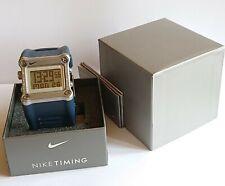 Rare Obsidian Blue Nike Hammer Mettle/Anvil WC0021 401 Sports Fitness Watch