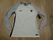 RARE Nike Euro 2016 France Authentic Player Edition White Long Sleeves Jersey XL