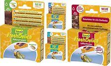 Tetra FreshDelica Bloodworms 1.10 Lbs Below Water Fleas in Jelly 32 Sachets