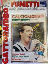 Supplemento Guerin Sportivo N.51/52 Calciomondo Anno 80 Buono