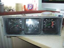 FIAT MIRAFIORI 131 INSTRUMENT GAUGE CLUSTER SPEEDO REV COUNTERCLOCK FUEL TEMP