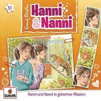 HANNI UND NANNI - 51/IN GEHEIMER MISSION   CD NEU
