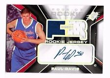 2006-07 SPx Auto Jersey Paul Davis #d 575/1199