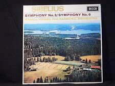 J. Sibelius- Symphonies Nos.3 & 6 / Maazel
