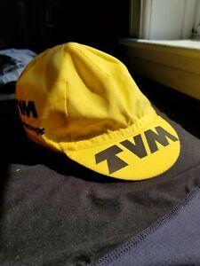 Vintage TVM cycling cap casquette maglia ciclismo