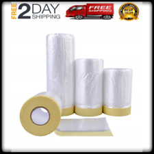 3 Sizes Home Tool Tape Drape Assorted Masking Paper Automotive Painting Covering