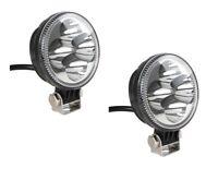 2 Stück 12W 3Wx4 Weiß LED Arbeitsscheinwerfer Offroad Scheinwerfer für Jeep