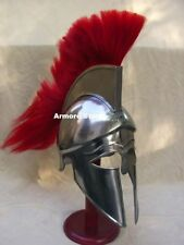 Corinthian Helmet With Plume red New