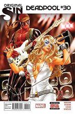 Deadpool #30  Marvel Comic Original Sin NM 1st print Mark Brooks cover Dazzler