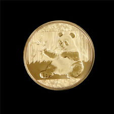 Gold-Plated Panda Baobao Commemorative Challenge Coin Collectible Gift ESUS