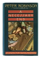 Peter Robinson: A Necessary End SIGNED FIRST EDITION