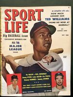 Larry Doby Sport Life Magazine May 1951 - Cleveland Indians All-Star - Vintage