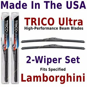 Buy American: TRICO Ultra 2-Wiper Set: fits listed Lancia: 13-16-16