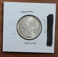 1966 Canada Silver 25 Cent Coin