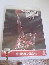 1990's Michael Jordan NBA Hoops Action Photo 8 x10 Printed Photo Chicago Bulls