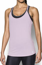 Under Armour Fly By Racerback Womens Running Vest Tank Top - Purple