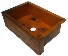 Ariellina Farmhouse 14 Gauge Copper Kitchen Sink Lifetime Warranty New AC1807 NF