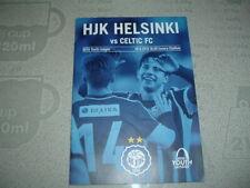 HJK Helsinki v Celtic UEFA Youth League Sept 2015