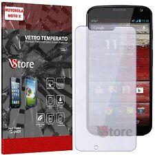 Pellicola Vetro Temperato Per Motorola Moto X (1 Gen) Proteggi Salva Schermo LCD