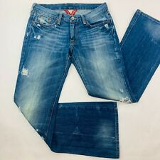 Lucky Brand Womens Jeans 2 Blue Sweet N Low Boot Cut Distressed Destroyed