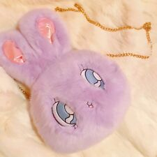 Lazy oaf bunny WC X Esther loves you Kim chain purse bag