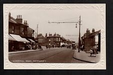 Patricroft, Liverpool Road - near Salford - real photographic postcard