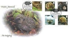 2010 Mammals, Buckingham 407 British Hedgehog Society Official Fdc