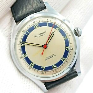 RARE - PALLAS SPEZIAL - VINTAGE - NEW OLD STOCK - 17 JEWELS - SWISS MADE - 36 MM