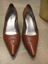 Costume National Tan Court Shoes - Size 38.5