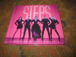 STEPS WHAT THE FUTURE HOLDS PART 2 USED 2021 SIGNED TWO DISC UK CD ALBUM.