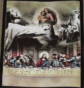 New The Last Supper Jesus Fleece Throw Blanket Gift Spiritual Religious Holy NIP