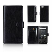 32nd LIBRO SERIE – Sintético Funda Cartera Plegable Piel - Blackberry keyone