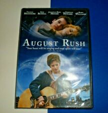 AUGUST RUSH VIDEO DVD WIDE & FULL  SCREEN  NEW IN PACKAGE 2007 PG