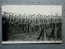 Military Pre WW1 PC. London Scottish Regiment : Minster 1910. Posted.
