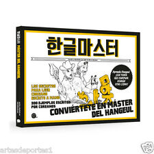 Become A Hangul Korean Master Book Read Write K-Pop Self Study Spanish Version