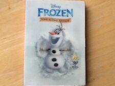 Disney Frozen Sing Along Version Dvd! Look In The Shop!