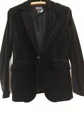 Womens NY & Co. Black velvet blazer - 6