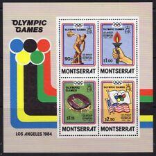 MONTSERRAT SGMS599 1984 OLYMPIC GAMES MNH