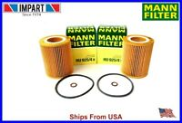 BMW 2 Mann Oil Filter 6 Cylinder  HU925/4x 11 42 7 512 300  qty. 2