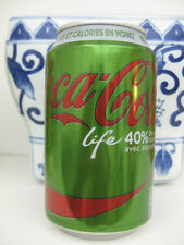 COCA COLA LIFE GREEN Stevia Collectible French Can