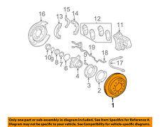 TOYOTA OEM Rear Brake-Rotor 4243160201