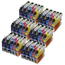 30 XL Druckerpatronen LC121 LC123 LC125 LC127 + Chip für den Brother MFC-J970DW